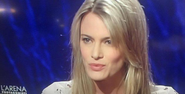 L'ex moglie di Muccino in tv: