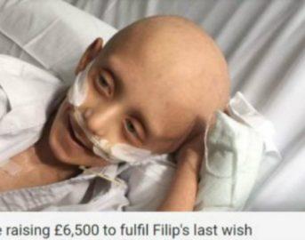 """Filip Kwasny commuove il web, il bimbo malato terminale: """"Seppellitemi accanto a mia madre"""" e la rete si mobilita"""