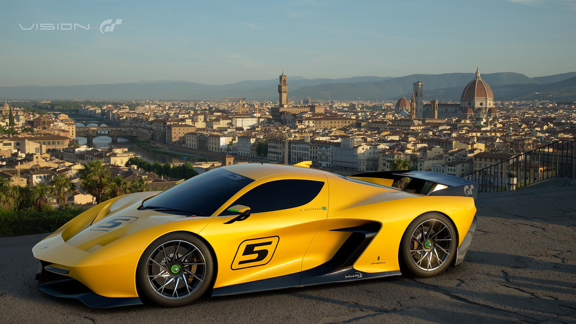 Fittipaldi EF7 Vision Gran Turismo by Pininfarina caratteristiche e scheda tecnica