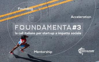Call startup sociali, SocialFare lancia FOUNDAMENTA#3: ecco come candidarsi