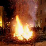 Fuochi di San Giuseppe riti e tradizioni dell'evento