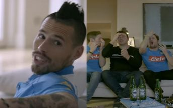 Marek Hamsik protagonista del nuovo spot Heineken, ecco il video completo