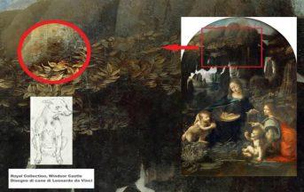 Leonardo Da Vinci: la Vergine delle rocce e il mistero del cane al guinzaglio, ecco cosa significa