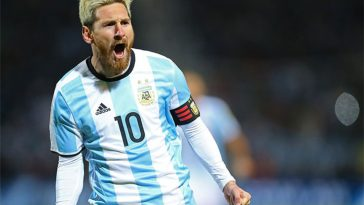 Argentina-Cile 1-0 highlights gol