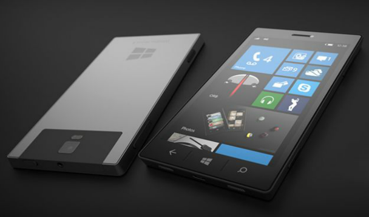 Microsoft Surface Phone Vs Samsung Galaxy S8 foto ufficiale