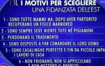 """Donne dell'Est in Italia, Parliamone Sabato e le scuse della Rai: """"Una follia!"""""""