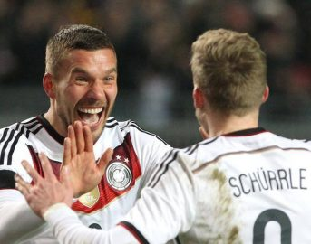 Germania – Inghilterra 1-0 video gol, sintesi e highlights: Podolski gol e addio
