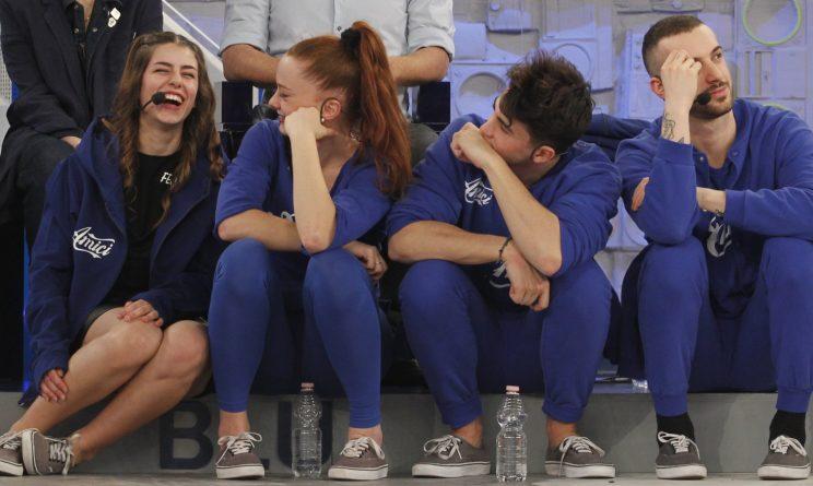 I componenti della squadra blu di Elisa al Serale di Amici 2017