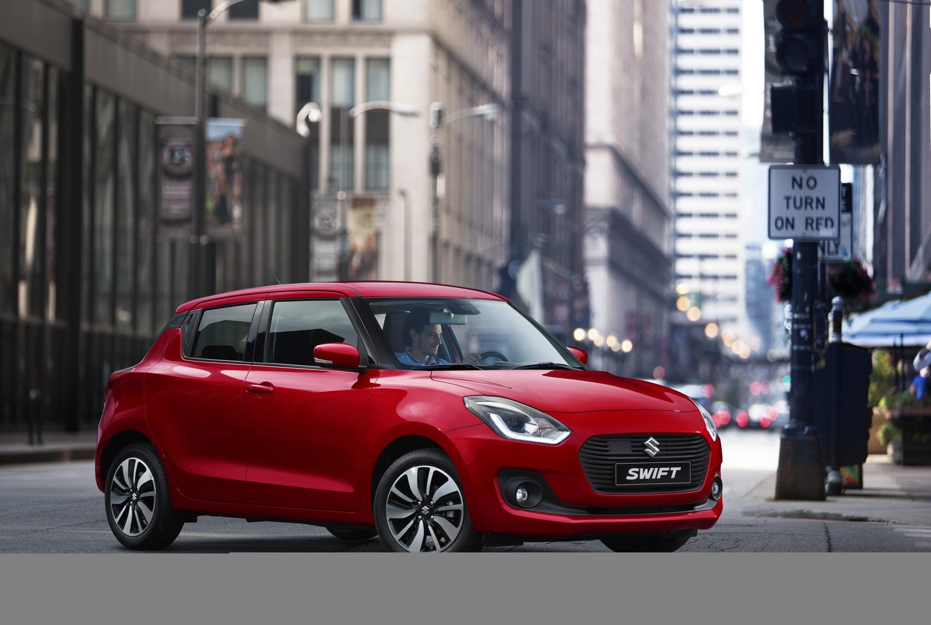 Nuova Suzuki Swift 2017 prezzo caratteristiche