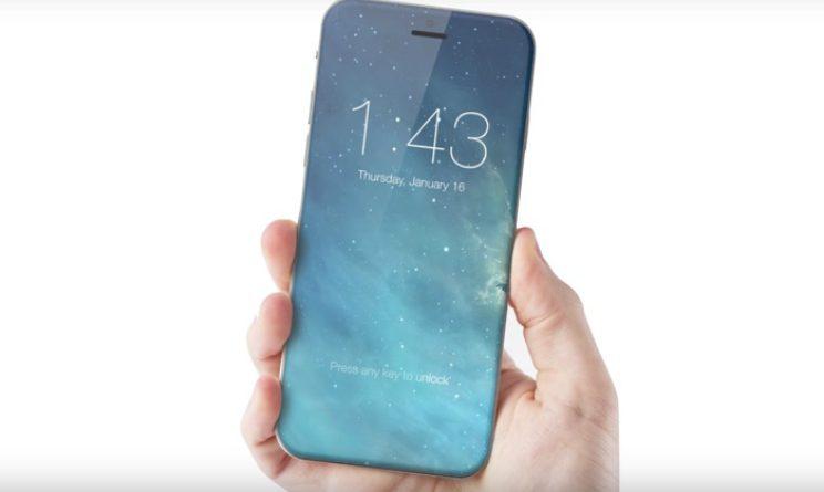 IPhone 8 con tasto Home virtuale e