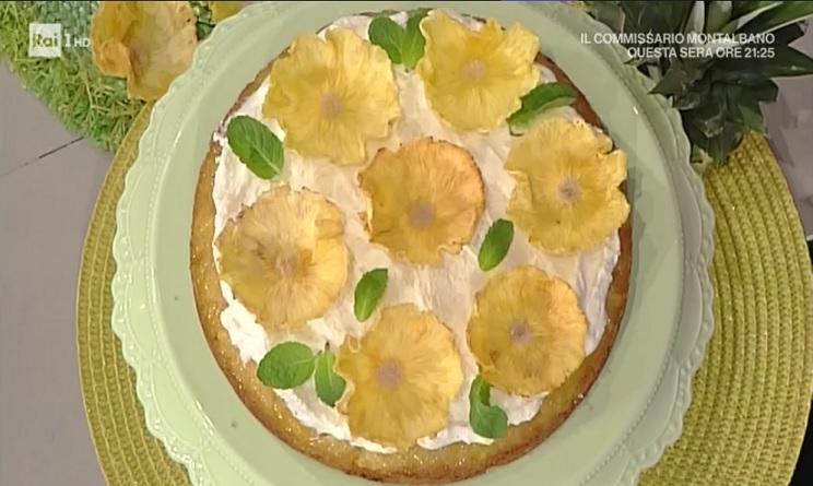 la prova del cuoco torta all'ananas, torta all'ananas natalia cattelani, la prova del cuoco ricette dolci, la prova del cuoco oggi, la prova del cuoco ricette, la prova del cuoco ricette oggi, la prova del cuoco ricette 6 marzo 2017,