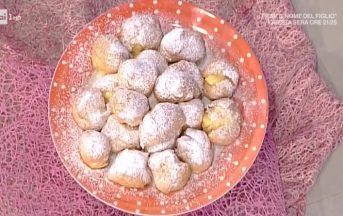 La Prova del Cuoco ricette dolci oggi: bignè fritti di San Giuseppe di Anna Moroni
