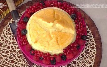 La Prova del Cuoco ricette dolci oggi: cheesecake giapponese di Hirohiko Shoda