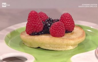 La Prova del Cuoco ricette dolci oggi: pancakes di Sergio Barzetti