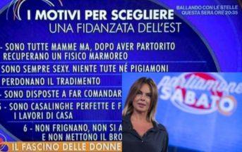 Paola Perego caso 'Lista Donne dell'Est': la rete si sbizzarrisce, impazzano le liste ironiche