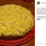 torta mimosa ananas, torta mimosa ananas ricetta, come preparare la torta mimosa ananas, torta mimosa ananas ingredienti,