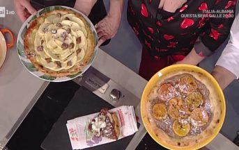 La Prova del Cuoco ricette dolci oggi: le pizze dolci di Guido Castagna e Gino Sorbillo
