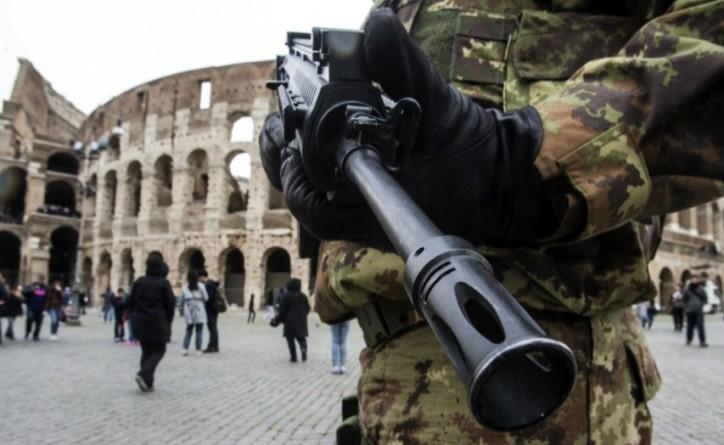 trattati rma 25 marzo allarme terrorismo