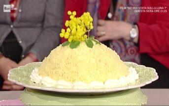 La Prova del Cuoco ricette dolci oggi: zuccotto mimosa di Anna Moroni