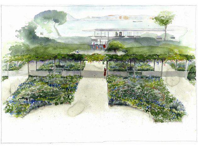 Giardini reali venezia pronti a tornare al loro antico for Disegno giardini