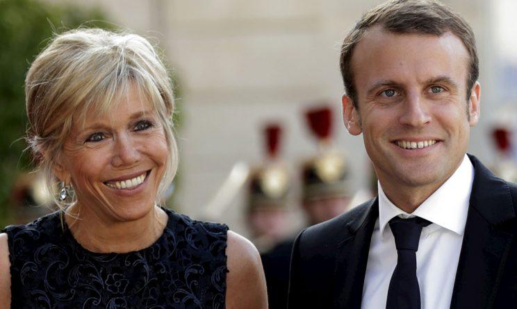 Emmanuel Macron Moglie La Premiere Dame Brigitte Trogneux