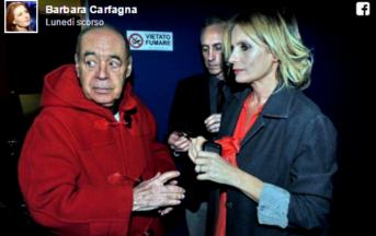 Gianni Boncompagni amanti minorenni: Claudia Gerini si difende e la Carfagna 'corregge il tiro'