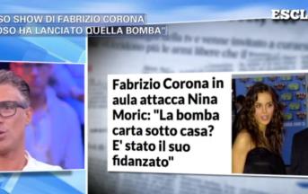 Fabrizio Corona contro Luigi Mario Favoloso: il fidanzato di Nina Moric parla di calunnie