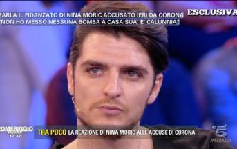Fabrizio Corona oggi processo, bomba carta: il fidanzato di Nina Moric ride e si difende dalle accuse