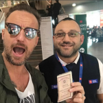 Francesco Facchinetti aeroporto