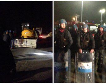 Gasdotto Tap, blitz della polizia: bloccati gli attivisti (VIDEO)