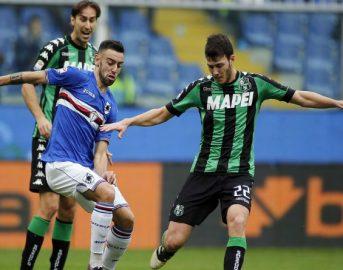 Sassuolo – Sampdoria probabili formazioni e ultime news, 32a giornata di Serie A