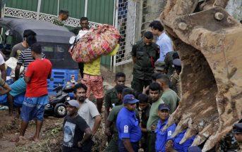 Sri Lanka, tragedia in una baraccopoli: valanga di spazzatura, 16 morti