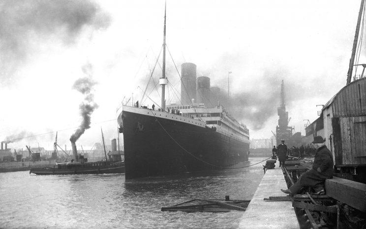 mostra titanic torino