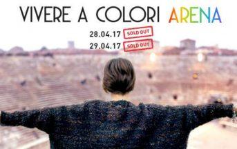 Alessandra Amoroso Arena di Verona Scaletta, tutto su Vivere a Colori Arena Tour: concerti 28 e 29 aprile 2017