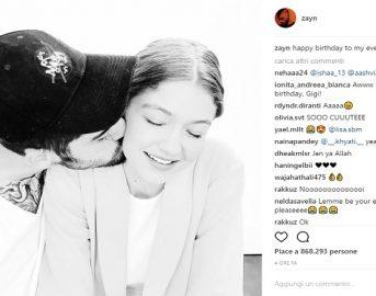Gigi Hadid età, compleanno al top: le dediche della sorella Bella e di Zayn Malik [FOTO]