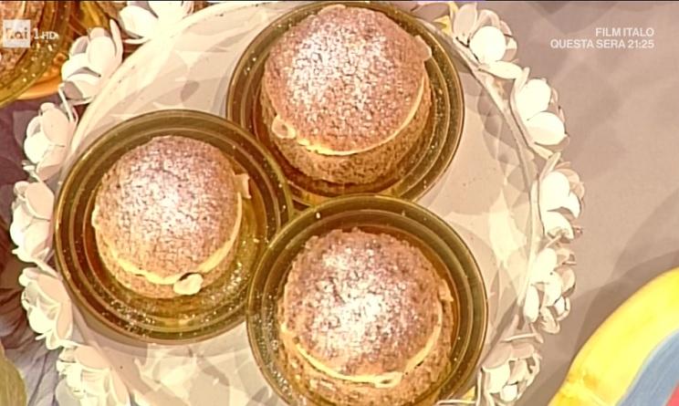 La prova del cuoco ricette dolci oggi, la prova del cuoco ricette dolci, la prova del cuoco ricette oggi, la prova del cuoco 21 aprile 2017, paris brest sal de riso,paris brest la prova del cuoco,