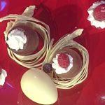 La prova del cuoco ricette dolci oggi, la prova del cuoco ricette dolci, la prova del cuoco ricette oggi, la prova del cuoco 14 aprile 2017, ovetti di cioccolato ripieni di guido castagna,
