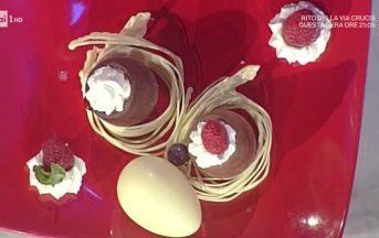 La Prova del Cuoco ricette dolci oggi: ovetti di cioccolato di Guido Castagna