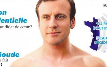 """Macron fake news di una rivista gay giocata su ambiguo (e finto) outing: """"Ci serviva visibilità"""""""