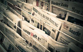 Libertà di stampa: Italia al 52esimo posto, guadagna 25 posizioni ma i problemi restano