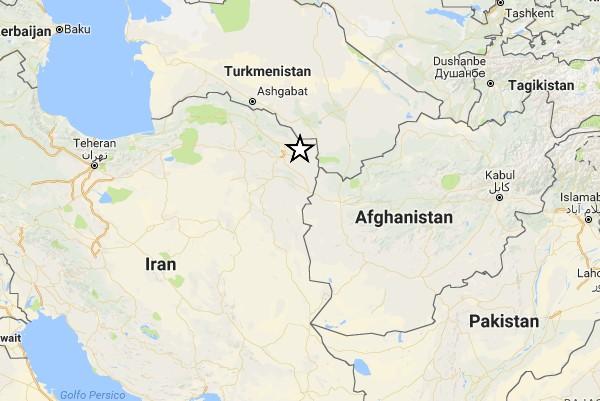 scossa terremoto 6.1 in iran
