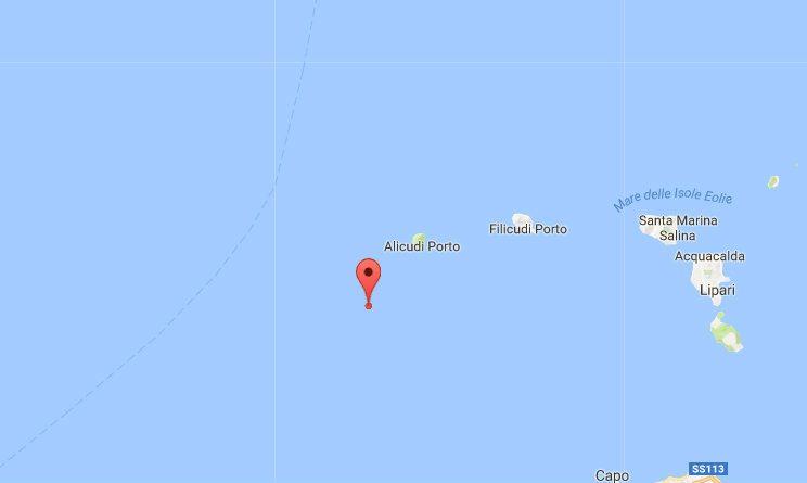 terremoto sicilia eolie oggi