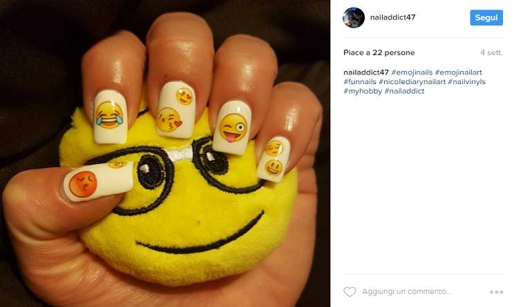 unghie gel primavera 2017, unghie gel, unghie 2017, unghie gel 2017, unghie primavera 2017, nail art primavera 2017, nail art emoji,