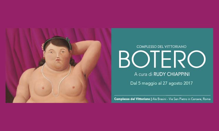 mostra botero roma 2017