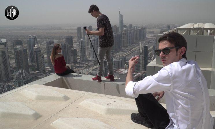 LE IENE SHOW ANTICIPAZIONI 7 MAGGIO 2017 - Fabio Rovazzi ei selfie estremi