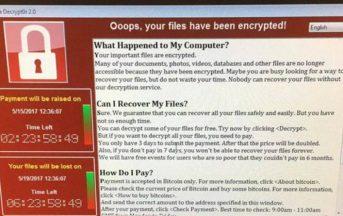 Attacco Hacker in tutto il mondo: colpita anche l'Italia, cosa c'è da sapere