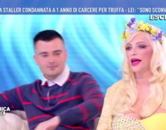 """Barbara d'Urso infuriata a Domenica Live, interrotta l'intervista a Ilona Staller: """"Teatrino orrendo"""""""