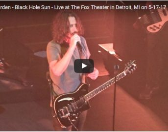Chris Cornell è morto: l'ultimo LIVE con i Soundgarden a Detroit (VIDEO)