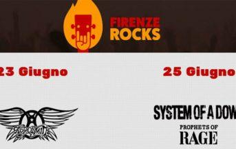 Firenze Rocks 2017 date, orario, apertura cancelli, scaletta, cantanti, line-up completa