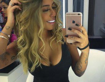 Gabigol fidanzata, le foto della bellissima Rafaella Beckran sorella di Neymar